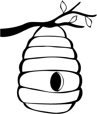 31 beehive drawing . Free cliparts that you can download to you ...