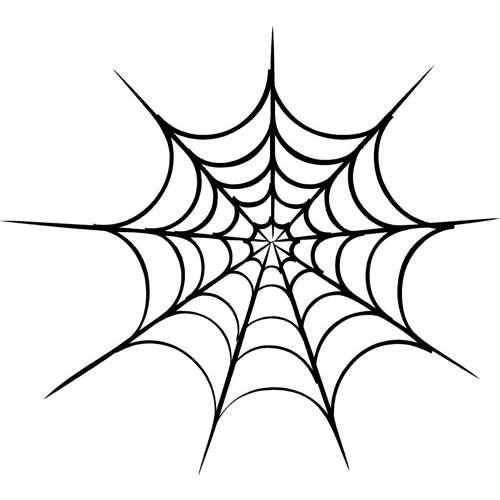 Corner spider web design - photo#12