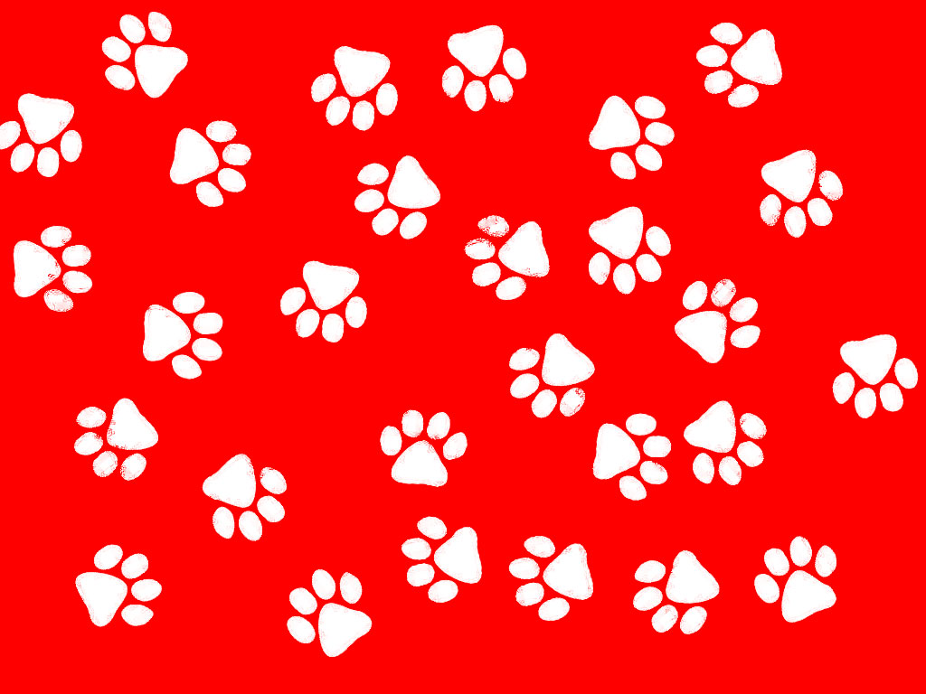 red paw print border clipart best paw print border clip art images dog paw print border clip art
