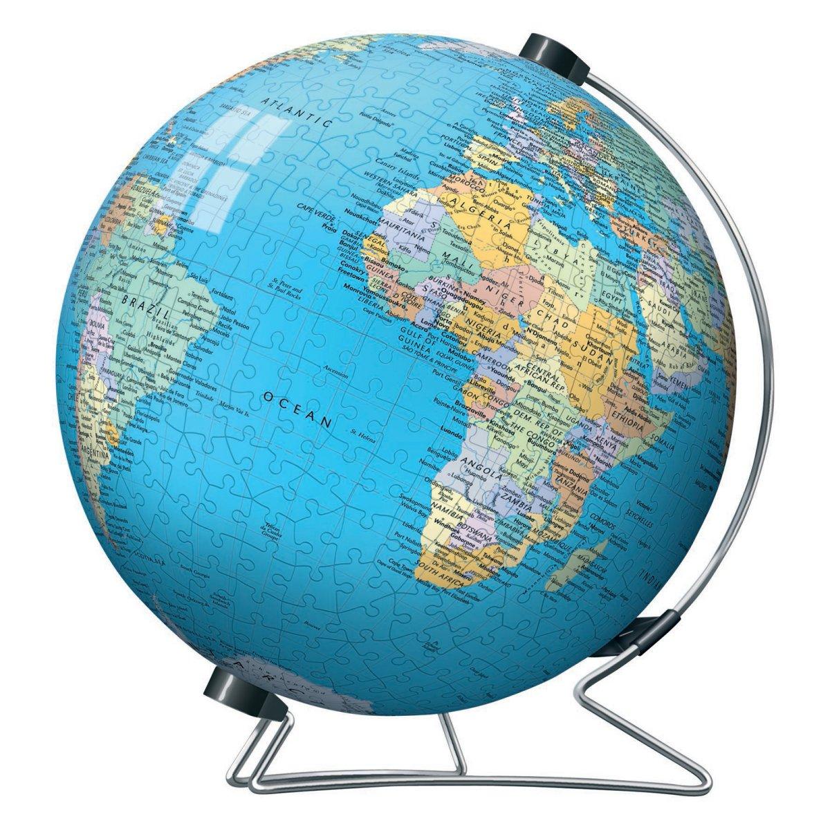 Globe Puzzle Clipart