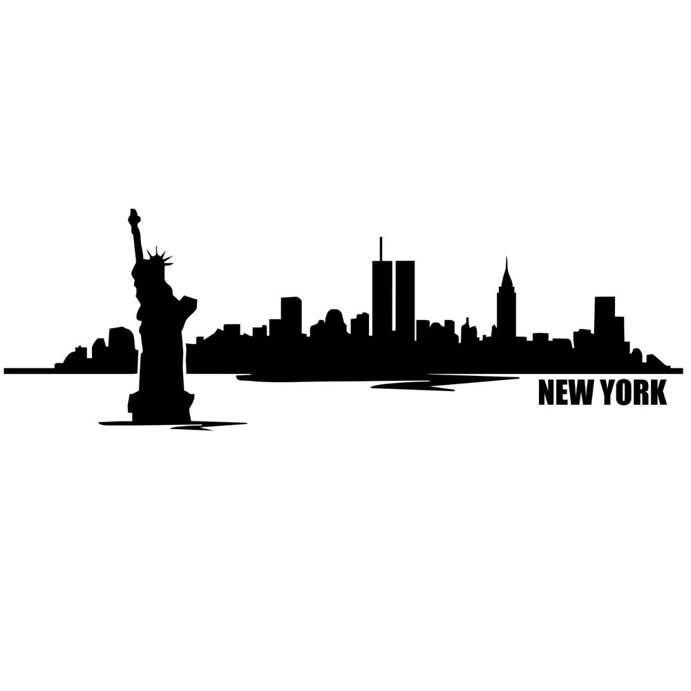 New york city wall decal highest quality pictures