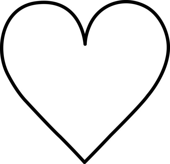 Line Art Of Heart : Line drawing heart clipart best