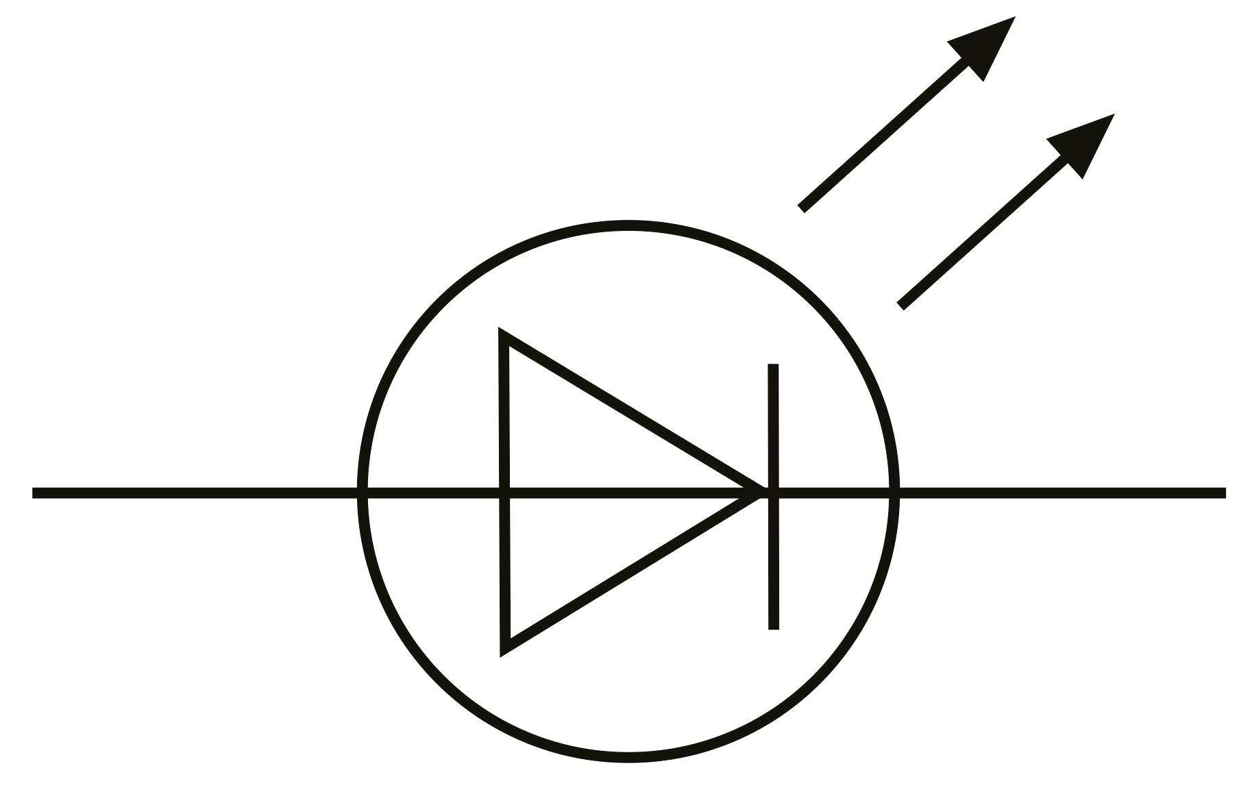 circuit symbol for light emitting diode
