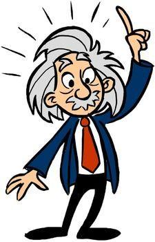 Simple Cartoon Einstein - ClipArt Best
