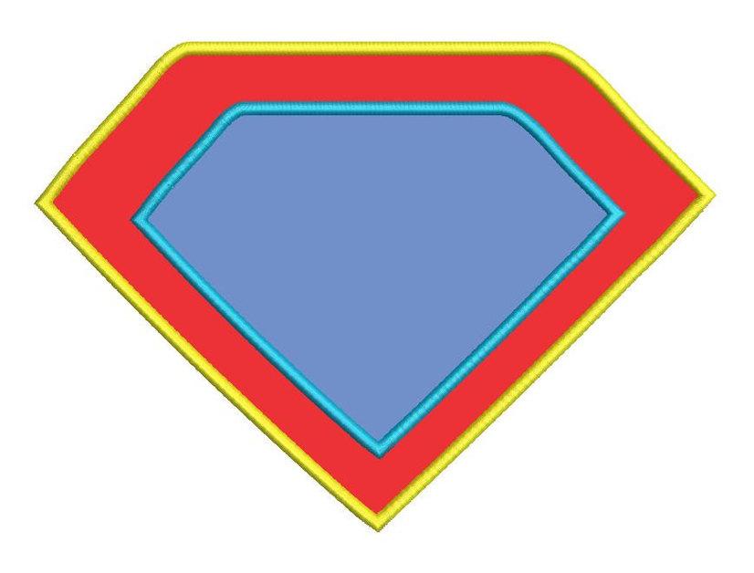 Superman Logo Clip Art - ClipArt Best