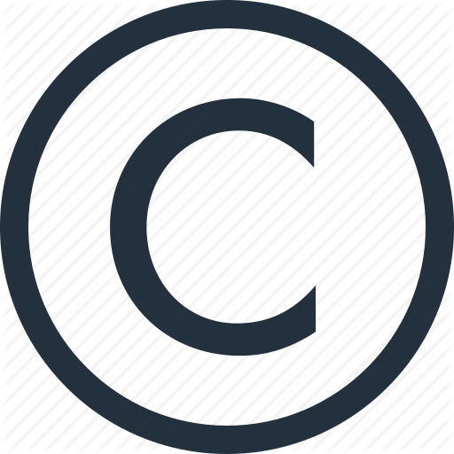 Copy, copyright, mark, right, rights icon | Icon search engine