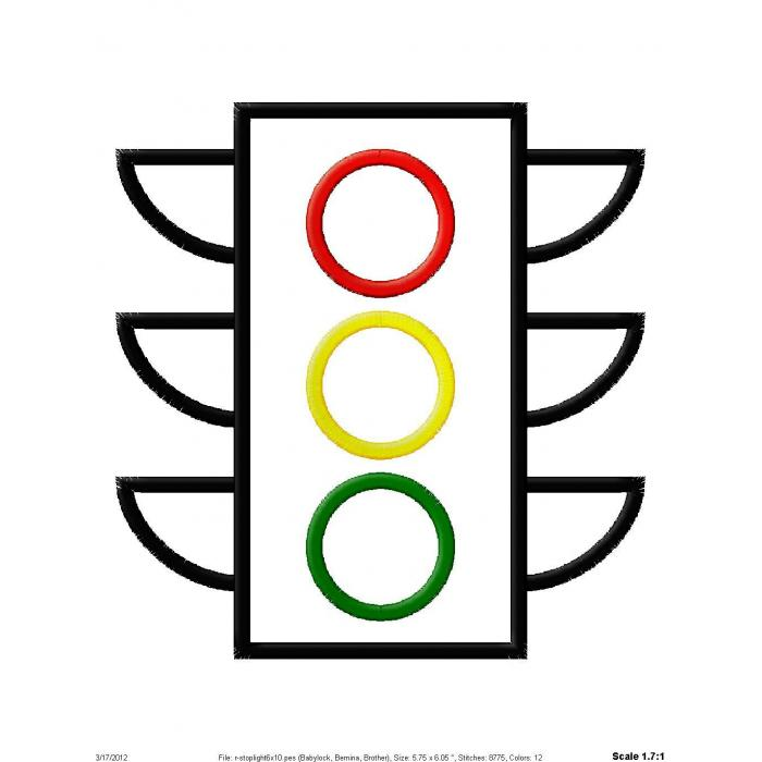 Coloring Traffic Lights Clipart Best Free Traffic Lights Coloring Pages