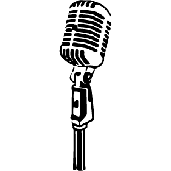 Old Fashioned Mic Stand