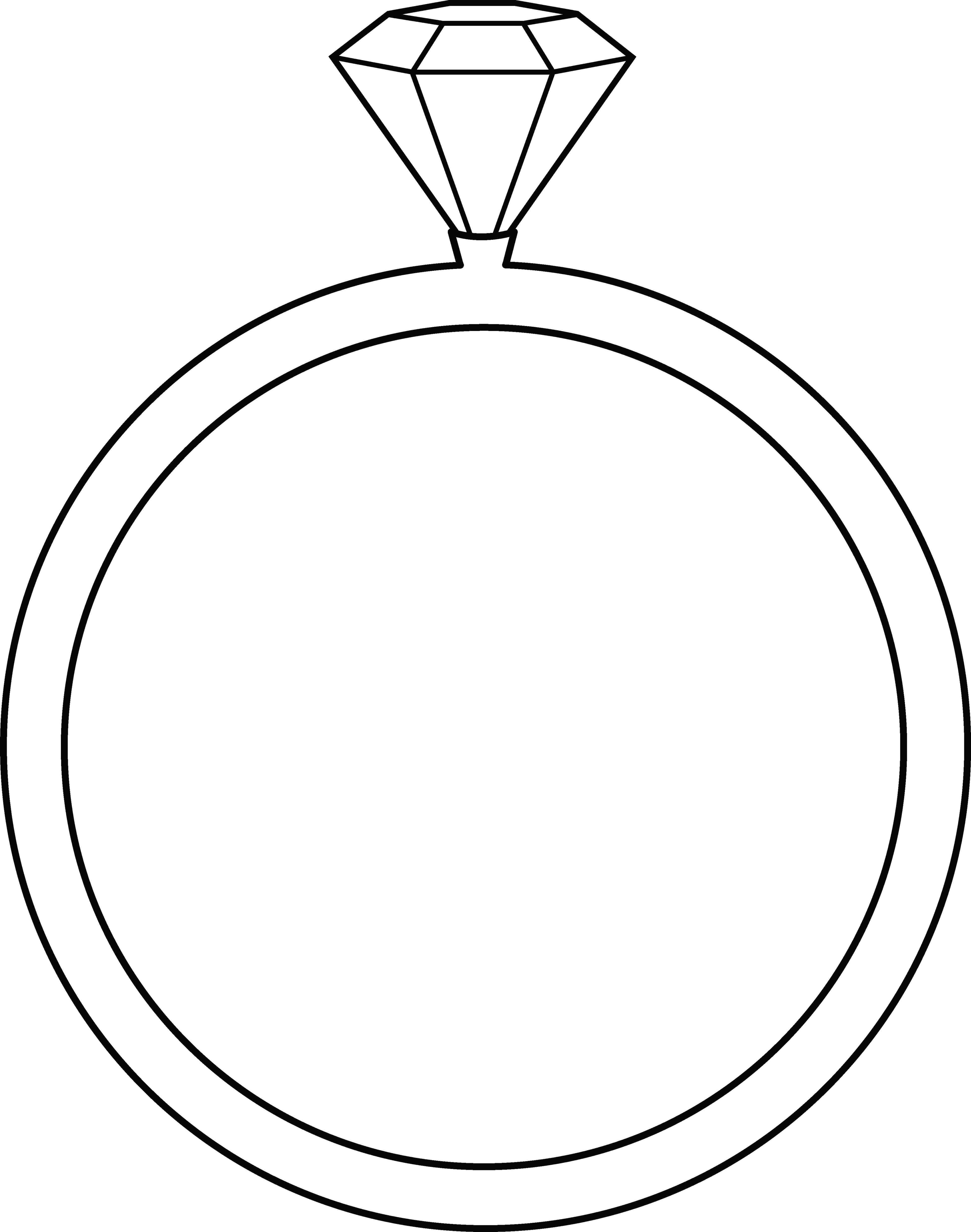 free printable ring coloring pages - photo#14