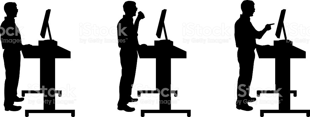 Man Standing Up On The Phone Clipart Best