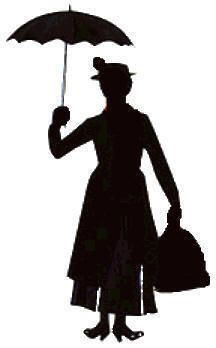 Clipart Mary Poppins Umbrella - ClipArt Best