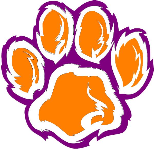 Tiger Paw Logo Tiger Paw Clip Art