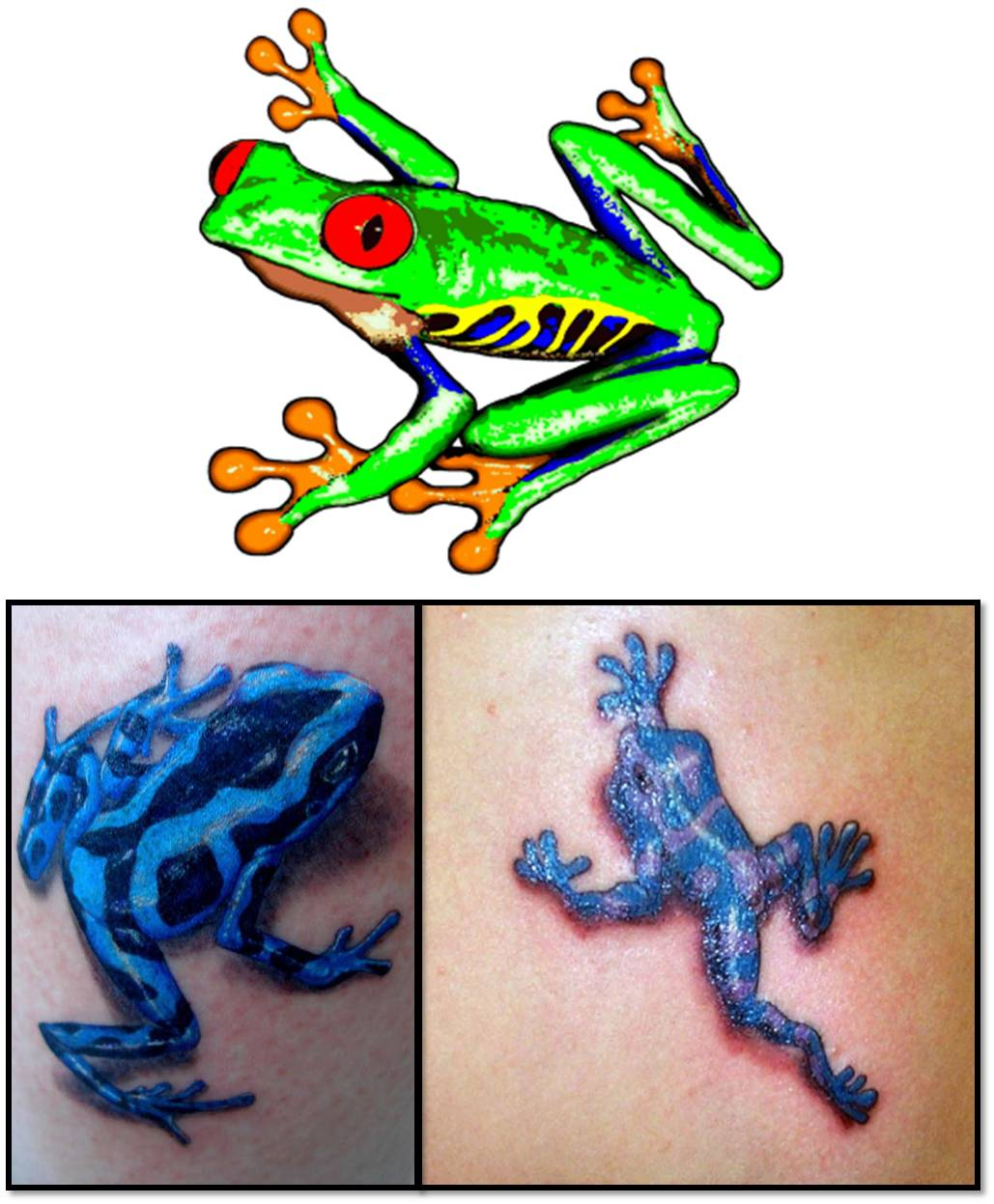 Peace frog tattoos tattoo art body picture