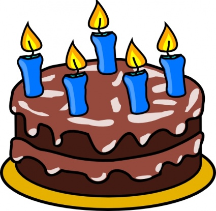 Birthday Cake Graphics Clip Art - ClipArt Best