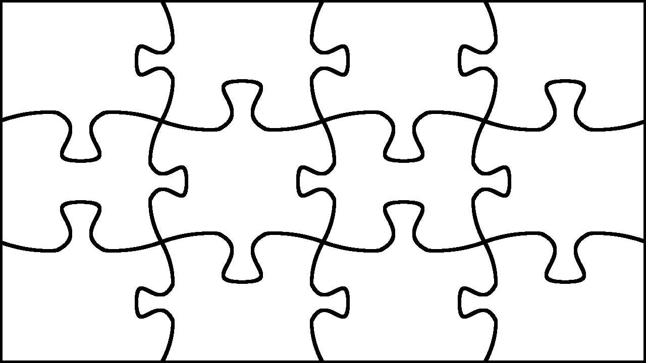 puzzle outline clipart best