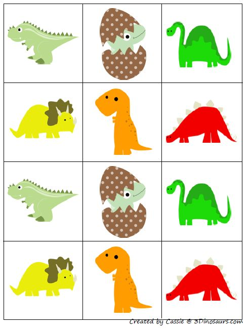Dinosaur Template Pres...