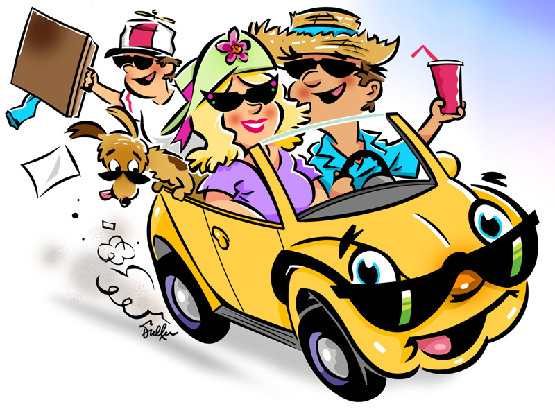 Family Vacation Clip Art - ClipArt Best