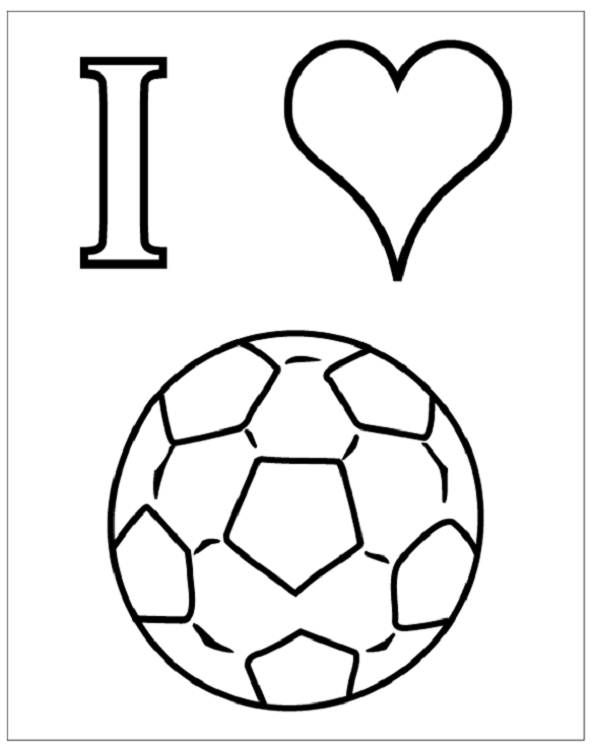 Soccer ball no color coloring pages for Soccer balls coloring pages
