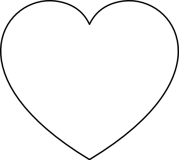 Large Heart Shape - ClipArt Best