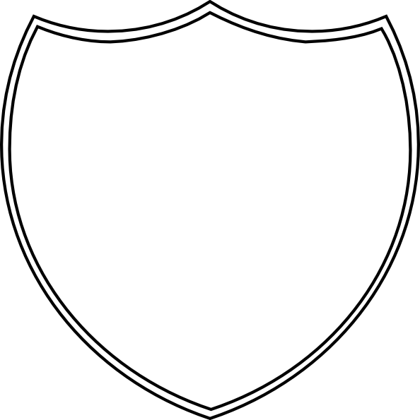 blank shield template printable - best photos of shield badge template blank shield emblem
