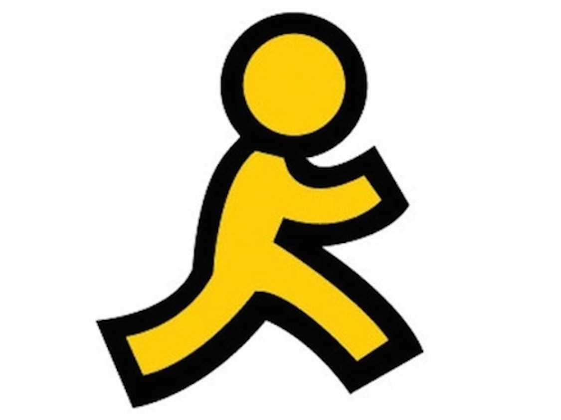 Here's The Story Behind AOL's Iconic Yellow Running Man Logo ...