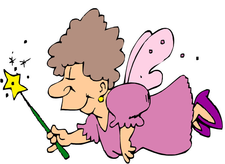 Fairy godmother clipart clipart best