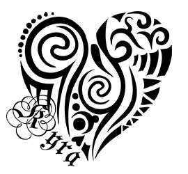 black and white heart tattoo designs clipart best. Black Bedroom Furniture Sets. Home Design Ideas