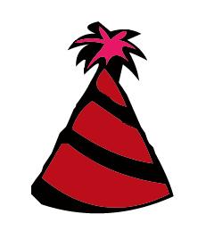Birthday Party Hat - ClipArt Best