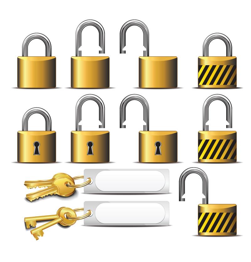 padlock and key clipart - photo #35
