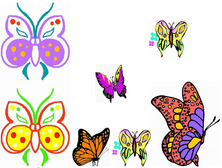 Butterfly cliparts, Butterflies clipart. clip art