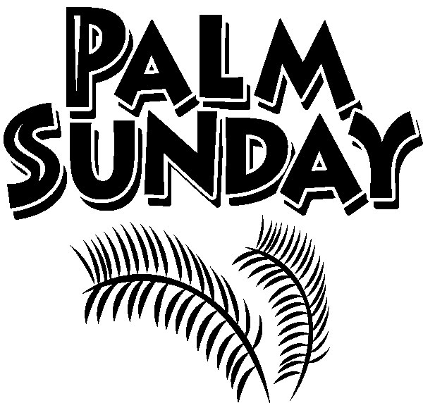 Palms sunday vector graphics clipart best for Free palm sunday coloring pages