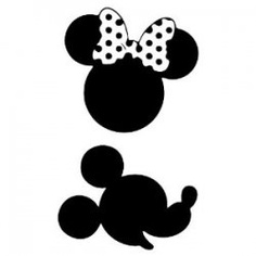Printable Minnie Mouse Silhouette - ClipArt Best