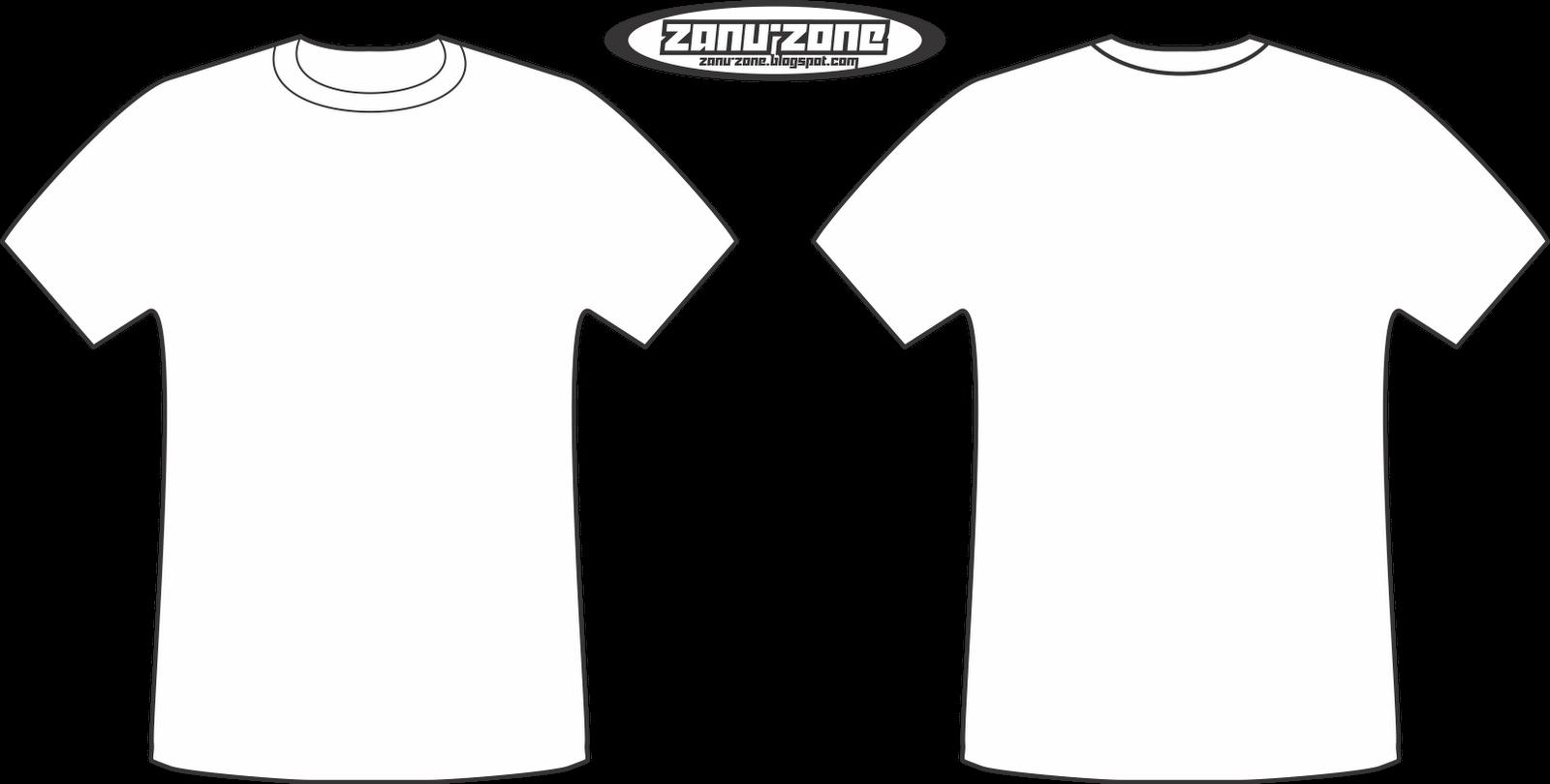 Template Desain Kaos Polos Depan