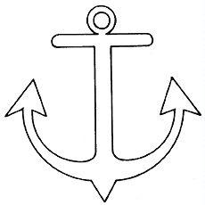 Printable anchor template