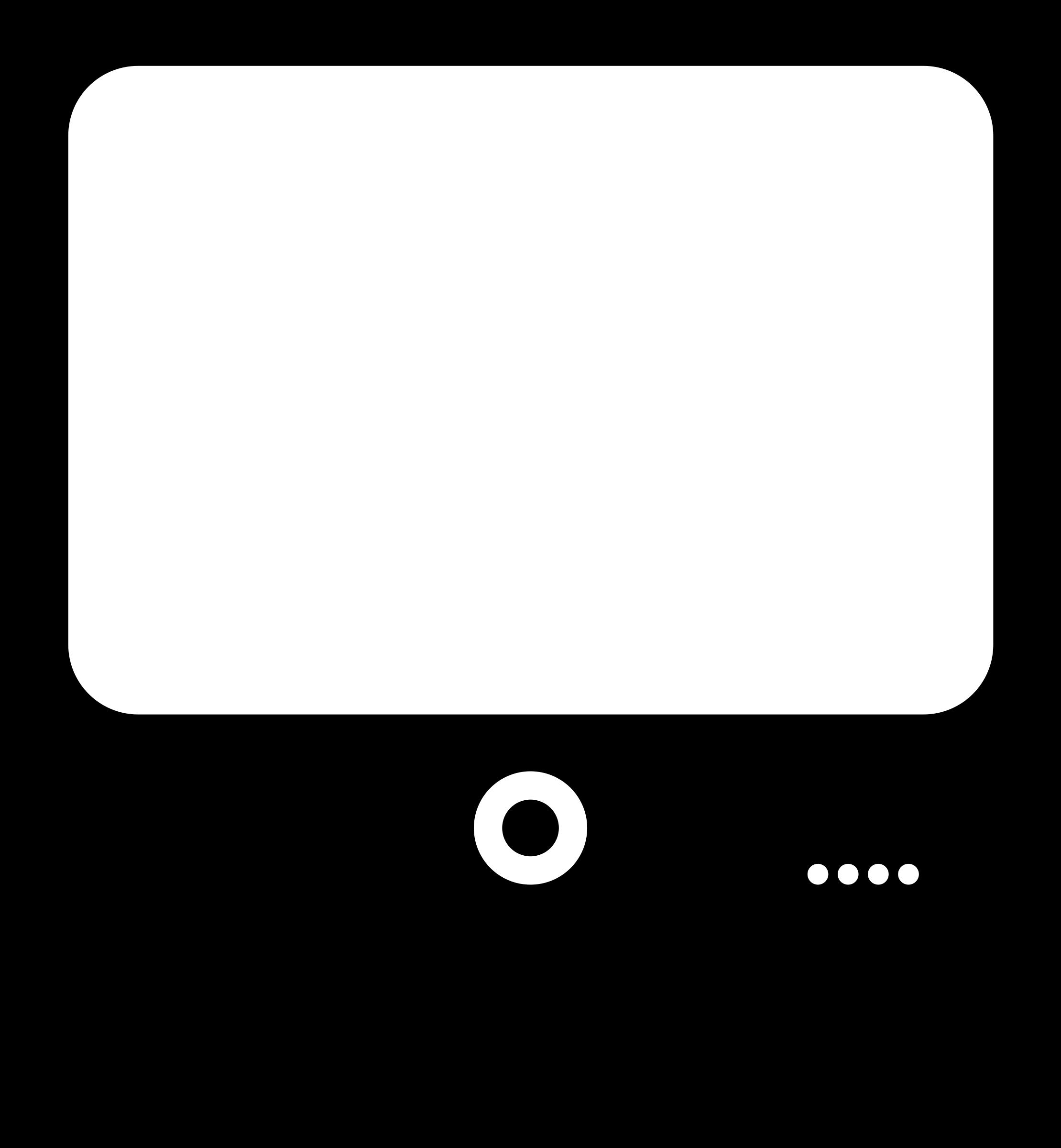 Computer Monitor Clipart Clipart - computer monitor