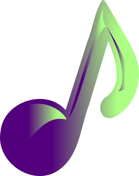 Music Note Clip Art Vector Clip Art Online Royalty Free