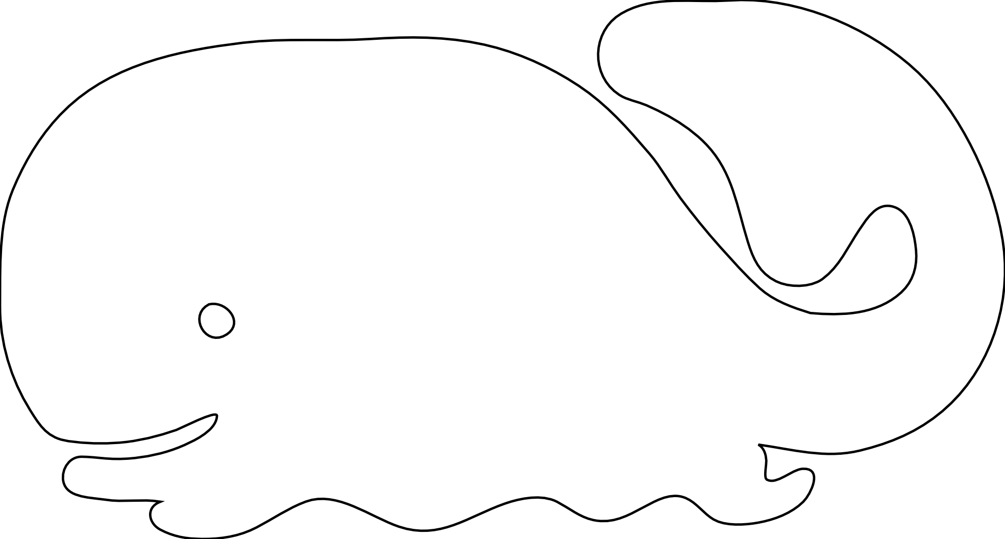 Line Art Vector Design Png : Whale icon black white line art scalable vector graphics