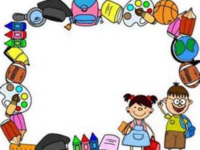 borders school clipart best