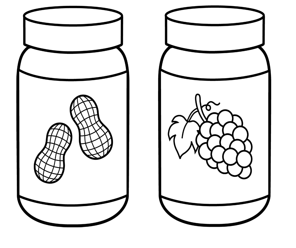 butter free coloring pages - photo#36