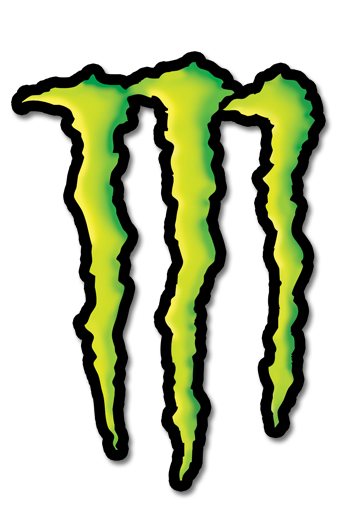 Monster Energy Logo Stencil
