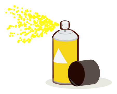 Paint Can Spray Yellow Clip Art Download - ClipArt Best ...
