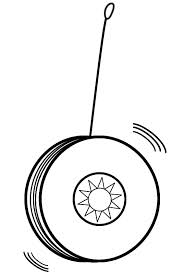 Yoyo Clipart Black And White - ClipArt Best