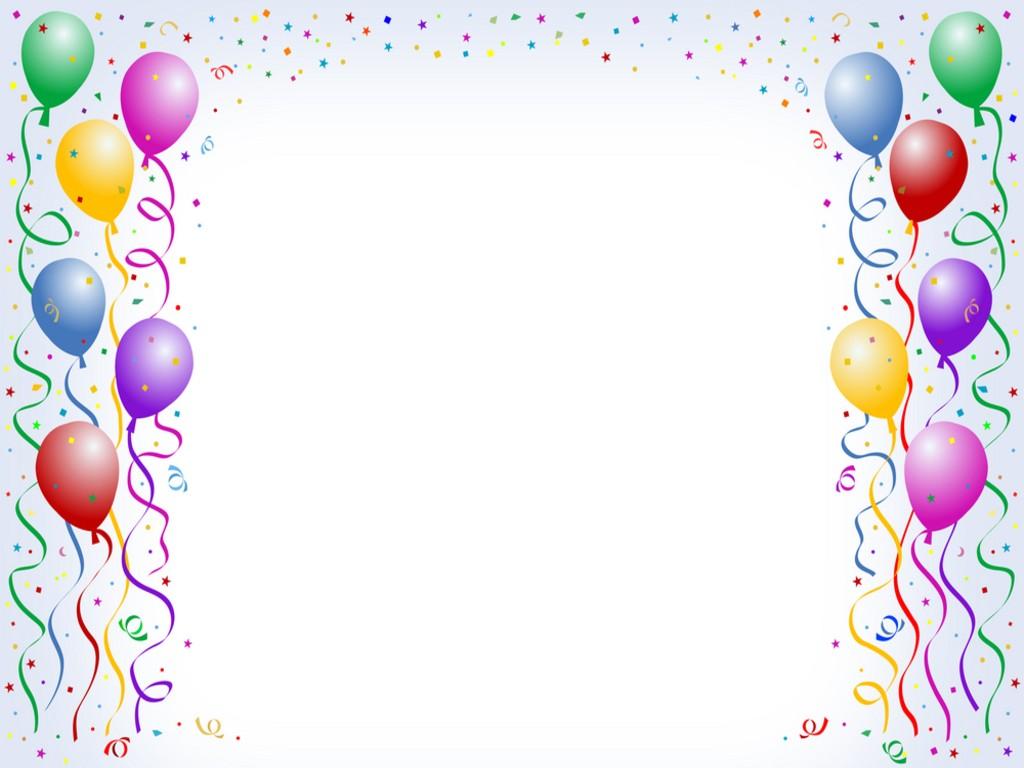 balloons clipart border - photo #8