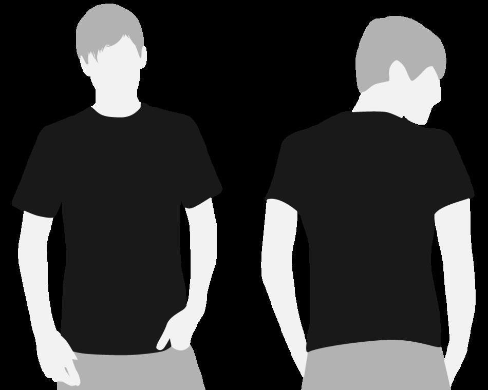 Plain White T Shirt Template - ClipArt Best