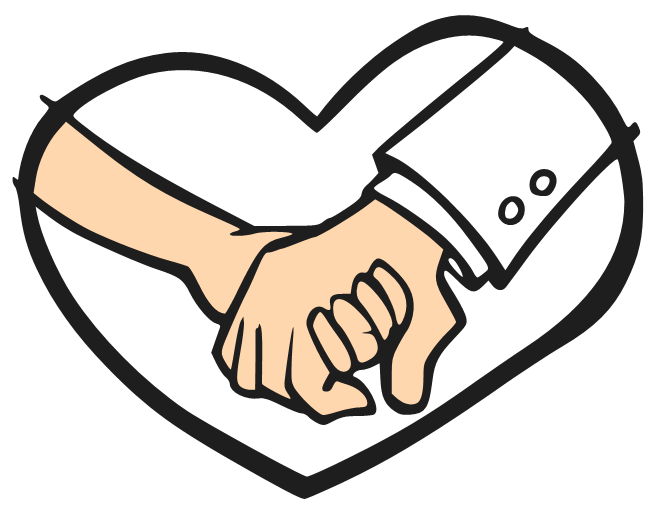 Cartoon Holding Hands - ClipArt Best