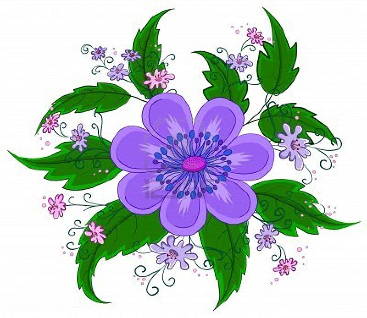 Art of flower clipart best for Art flowers