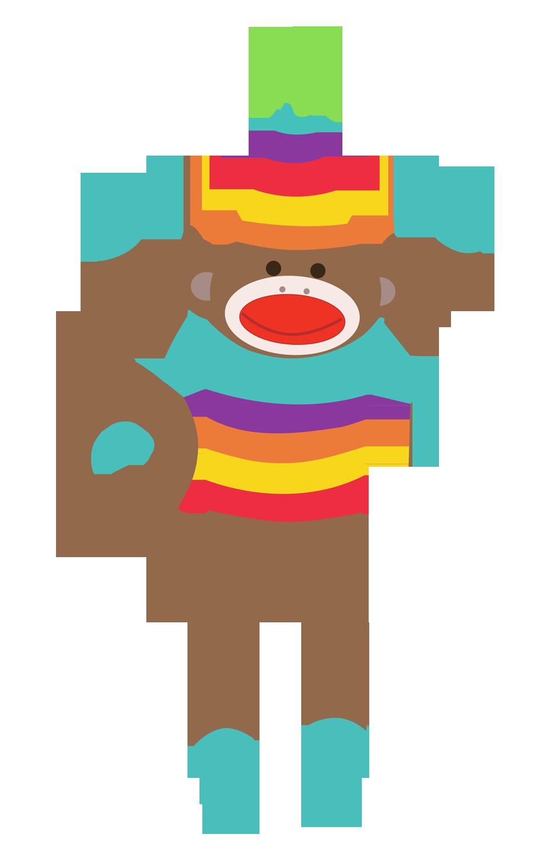 Sock Monkey Clip Art Free - ClipArt Best