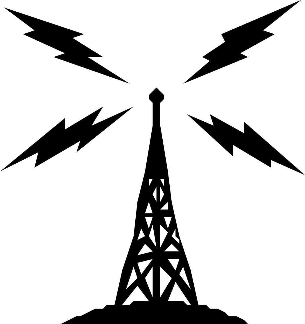 Radio Tower Logo - ClipArt Best