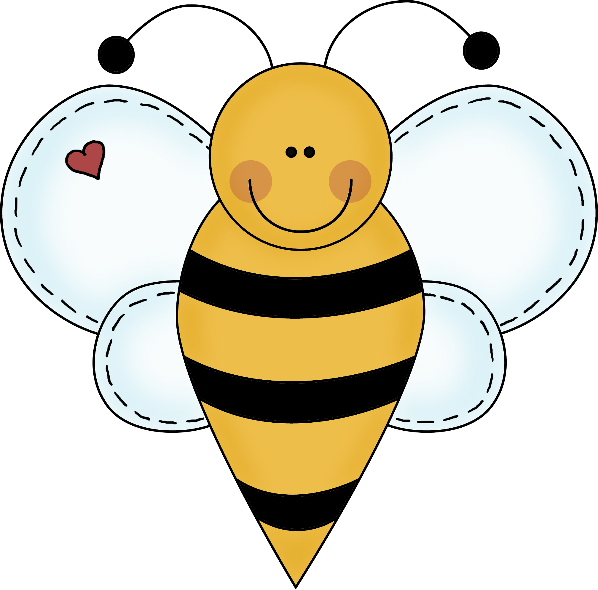 Free Printable Bee Clipart