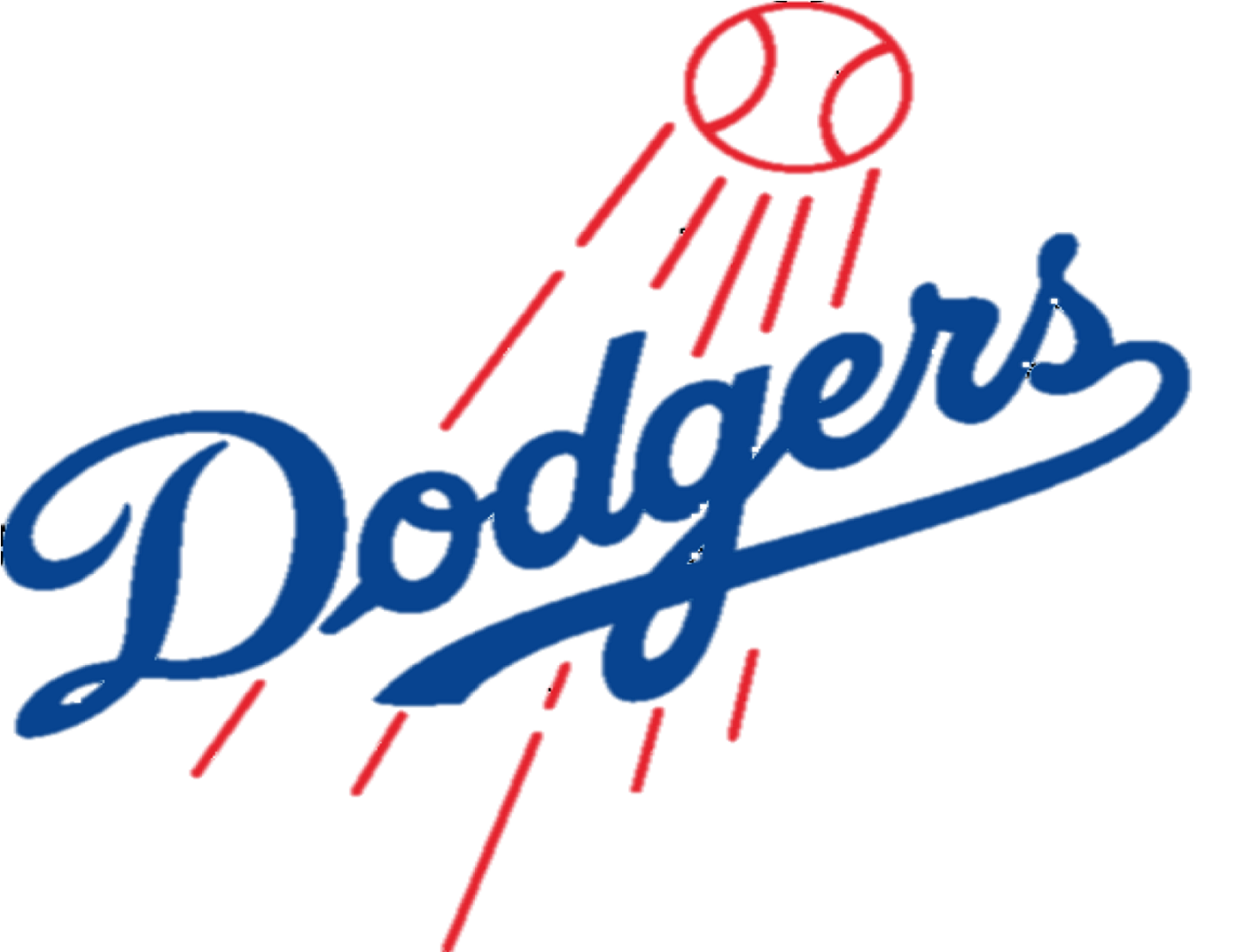 Baseball Dodgers Clipart